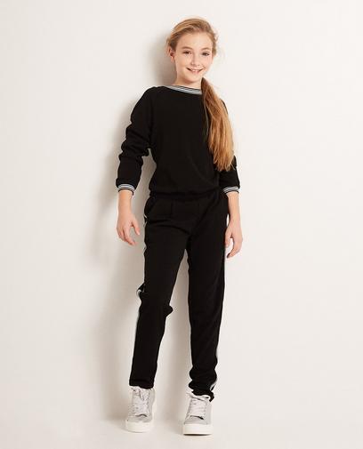 Zwarte jumpsuit